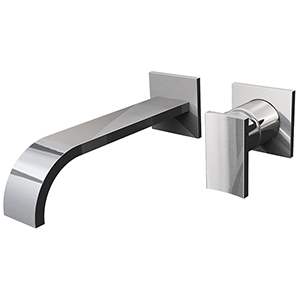 Graff G-1836-LM36W-PC-T - Sade Wall-Mounted Lavatory Faucet - Trim Only, Polished Chrome