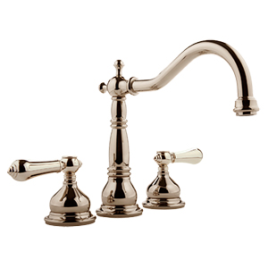 Graff - G-2550-LM34-PN - Canterbury Collection Roman Tub Set