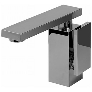 Graff G-3701-LM31M-PC/BK - Solar Single Lever Lavatory Faucet, Black and Chrome