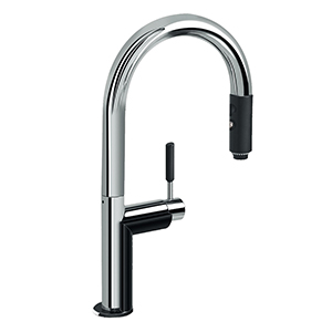 Graff G-4613-LM3-PC Perfeque Pull-Down Kitchen Faucet, Polished Chrome