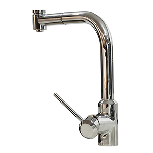 Graff G-4625-LM41K-BNi M.E. 25 Pull-Out Kitchen Faucet, Brushed Nickel