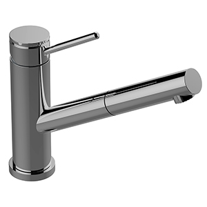 Graff G-5430-LM53-PN M.E. 25 Pull-Out Bar/Prep Faucet, Polished Nickel