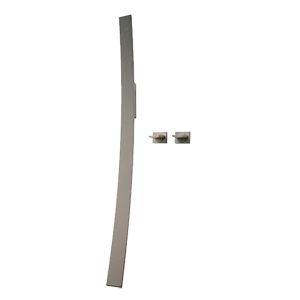 Graff - G-6053-C14U-SN-T - Luna Wall-Mounted Tub Filler Trim with handles
