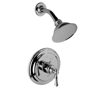 Graff - G-7115-LM15S-ABN - Nantucket Traditional Pressure Balancing Shower Set