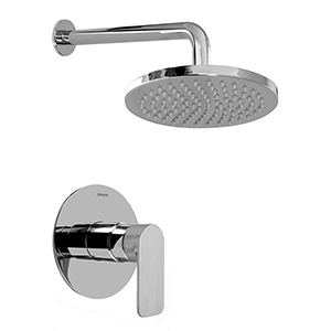 Graff G-7230-LM42S-SN-T - Contemporary Pressure Balancing Shower Set (Trim Only), Steelnox (Satin Nickel)
