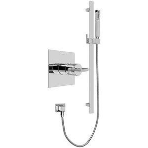 Graff G-7245-C14S-OB - Contemporary Pressure Balancing Shower Set (Rough & Trim), Olive Bronze