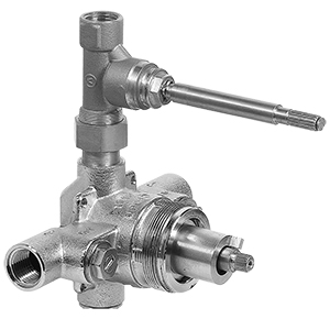 Graff - G-8010 - Thermostatic Components 1/2-inch Concealed Thermostatic Valve Rough with Built-in Stop/Volume Control