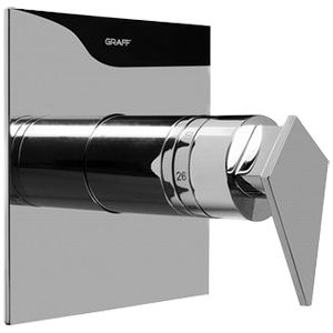 Graff G-8041-LM23S - Stealth SOLID Trim Plate with Handle