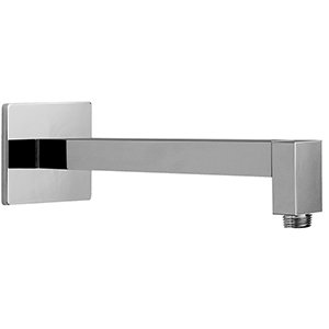 Graff - G-8530-SN - Tub & Shower Components Contemporary 12-inch Shower Arm