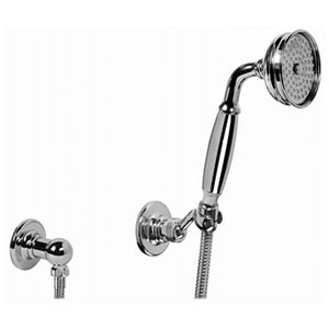 Graff - G-8609-NB - Tub & Shower Components Traditional Handshower with Wall Bracket