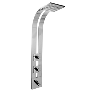 Graff - G-8850-C14S-SN-T - Targa Shower Panel and Handle