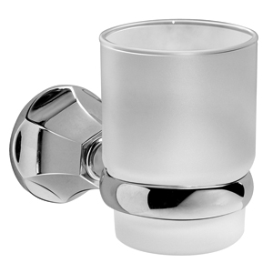 Graff - G-9062-BN - Bath Accessories Tumbler & Holder