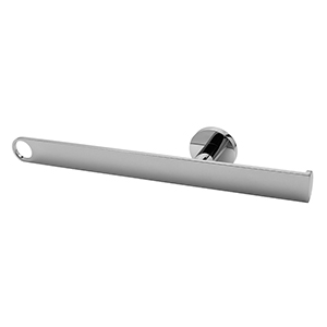 Graff G-9207-PN - Tissue Holder & Towel Bar, Polished Nickel