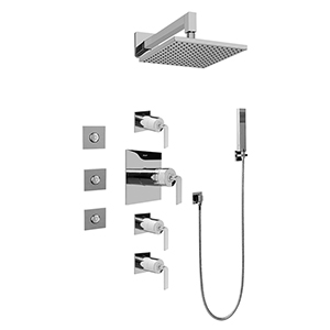 Graff GC1.122A-LM40S-PC - Immersion Full Thermostatic Shower System